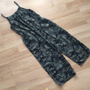 OLD NAVY Linen Blend Jumpsuit  Sz L - NWOT